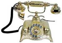 Solid Brass Telephone ( Shine finish)