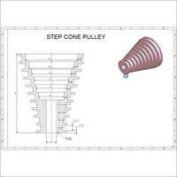 Wire Drawing Cone Pulley