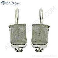 Rady to Wear Labradorite Gemstone Silver Earrings