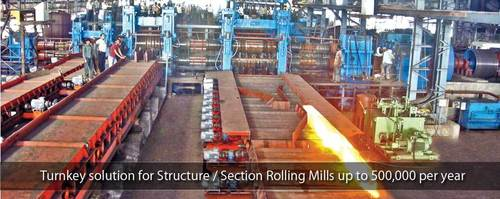 Section Rolling Mill Stand