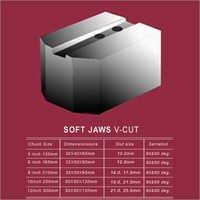 V Cut Soft Jaws