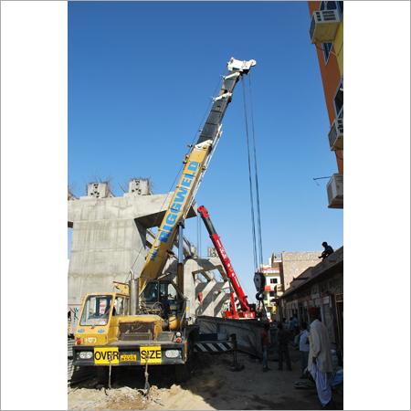 Mobile Hydraulic Crane Rental