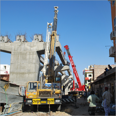 Hydraulic Mobile  Crane Rental
