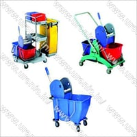 Double MOP Wringer Trolley