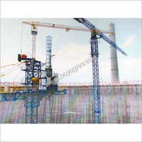 NDCT Racker Columns & Ring Beam Construction