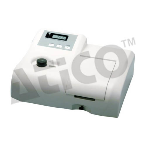 Single Beam UV VIS Spectrophotometer