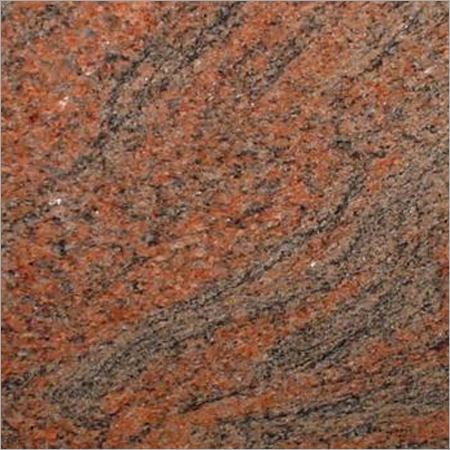 Red Multiclour Granite
