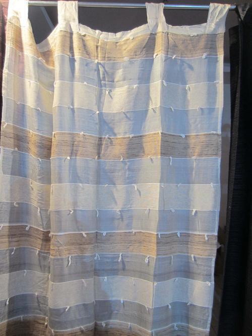 Silk Transparent Designer Curtain