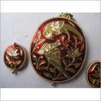 Designer Kundan Gold Pendant Sets