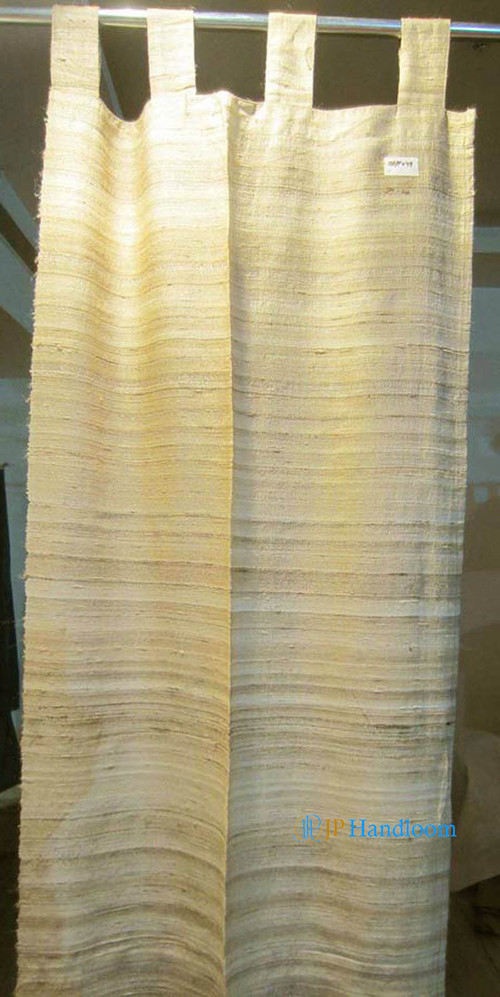 Tussah Silk Plain Curtain