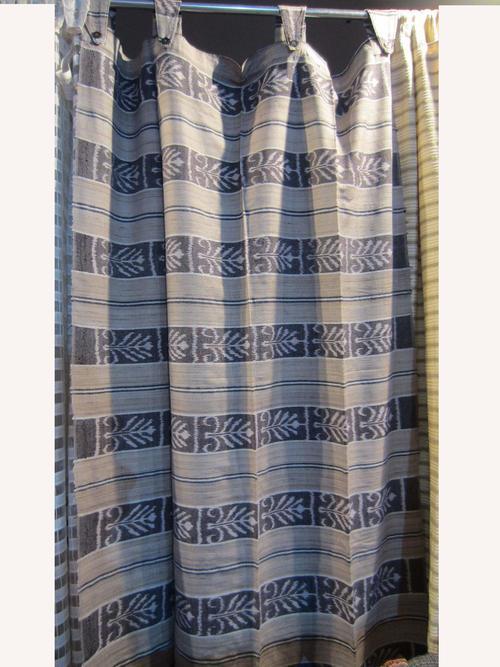 IKAT Silk Hand Woven Curtain