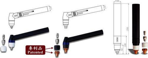 EWAC PLACUT 80D Torch parts