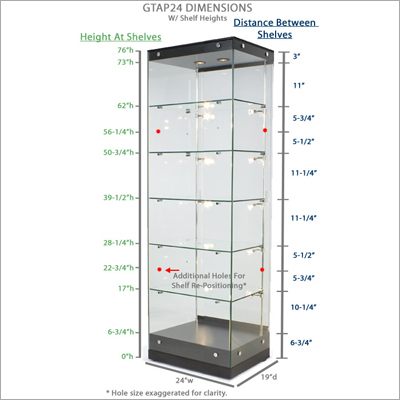 Frameless Shelving Systems