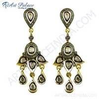 Traditional Designer Diamond Earrings