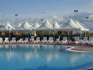 Poolside Awnings