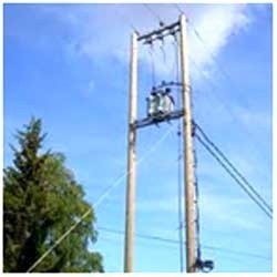 Low and High Tension Line Erection Service