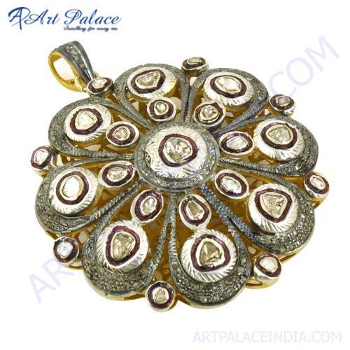 Victorian Designer Diamond Pendant