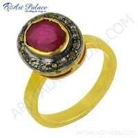 Vintage Designer Diamond Ring