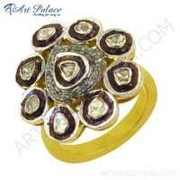 Fastival Wear Designer Diamond Ring