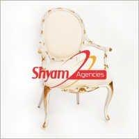 White Wood Wedding Chairs