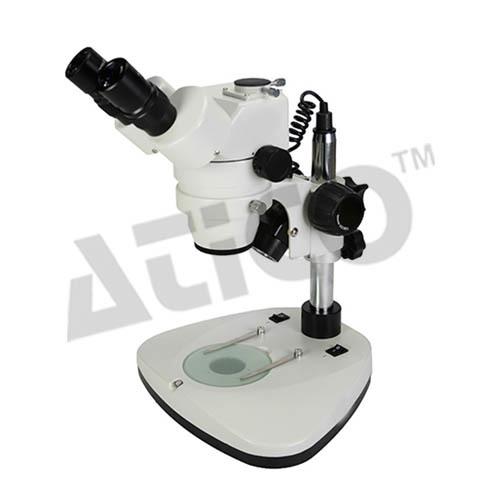 Zoom Stereoscopic Trinocular  Microscope