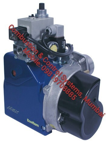 Ecoflam burner max gas series