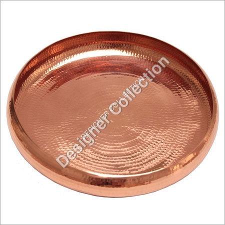 Round Brass Plate