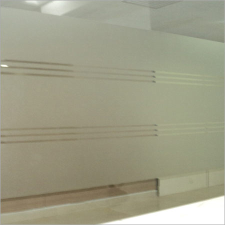 Etched Glass Film