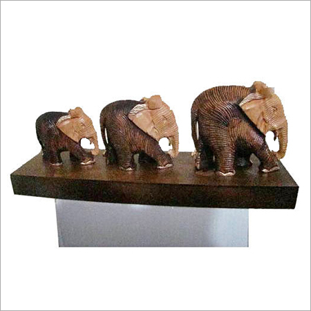 Decorative Wooden Elephants