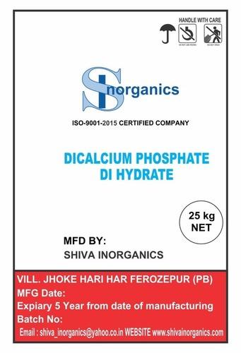 Dicalcium Phosphate Grade: Tech Grade