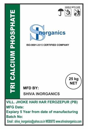 Tricalcium Phosphate Grade: Tech Grade