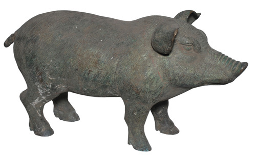Garden Decoration Pig Statue