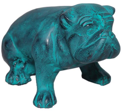 Sitting Bulldog Sculpture