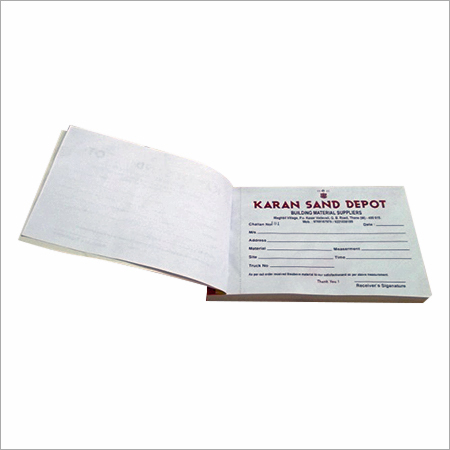 Voucher Book Printing
