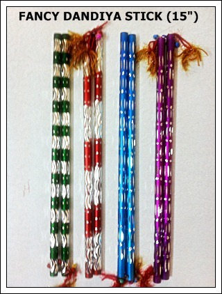 Fancy Dandiya Sticks Fancy Dandiya Sticks Exporter