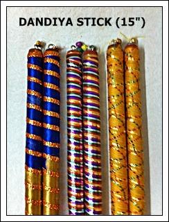 Sartin Navratri Dandiya Sticks