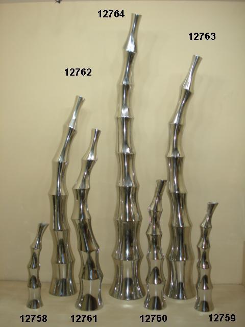 Aluminium Bamboo Vase