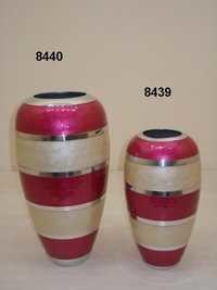 Painted Flower Vase