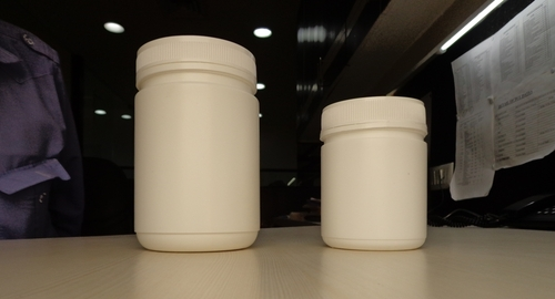 Wide Mouth Jars with Tamper Evident Caps