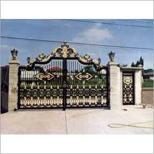 Designer Steel Main Gates