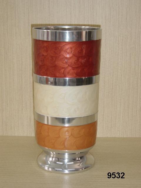 Coloured Flower Vase
