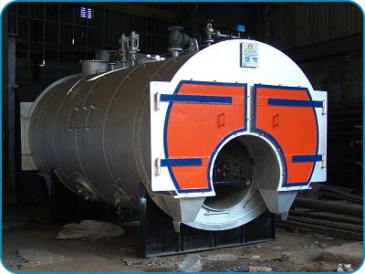 Fully Wet Back Three Pass Packaged Boiler