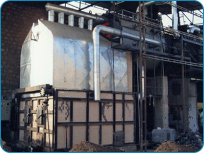 Water Wall Membrane Panel FBC Fired Boiler