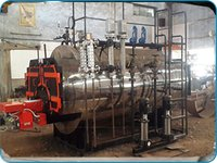 Oil And Gas Fired Fully Wetback Boiler