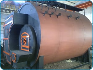 Nutshell And Coconut Shell Fired Fully Wetback Boiler