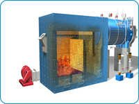 External Furnace Fired Single Pass Dryback Boiler