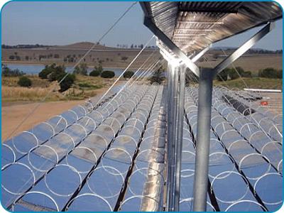 Solar Energy Fired Boiler