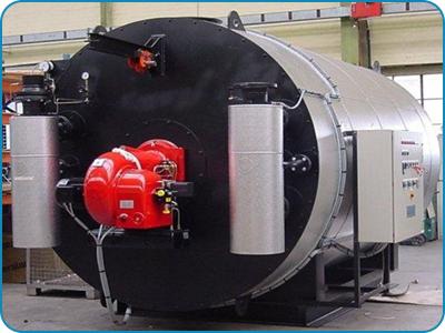 Horizontal Three Pass Thermic Fluid Thermal Heater