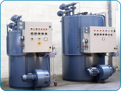 Vertical Three PassthermicFluid Thermic Oil Heater