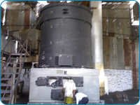 Vertical Three Pass Manual Fired Thermic Fluid Heater